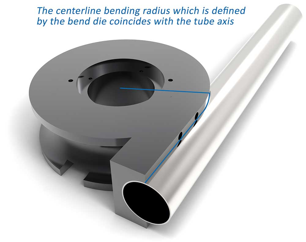 Importance of the bend radius of the tube - Tecnocurve